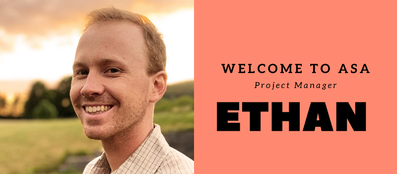 Welcome to the team, Ethan!